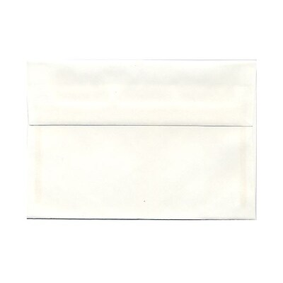 JAM Paper® A8 Invitation Envelopes, 5.5 x 8.125, Strathmore Bright White Wove, 25/pack (STTW761)