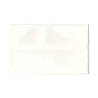 JAM Paper® A10 Invitation Envelopes, 6 x 9.5, Strathmore Bright White Wove, 100/Pack (191220g)