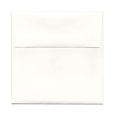 JAM Paper® 5.25 x 5.25 Square Envelopes, Strathmore Bright White Wove, 25/pack (193954)