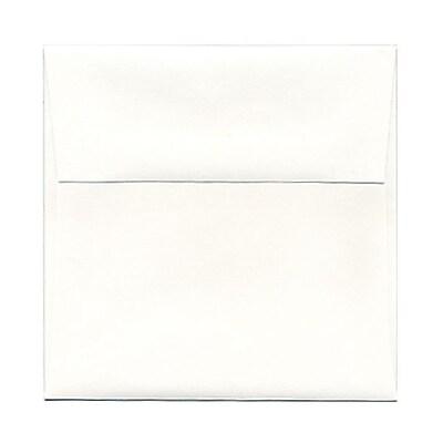 JAM Paper® 5.25 x 5.25 Square Envelopes, Strathmore Bright White Wove, 25/pack (193954)