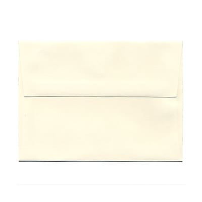 JAM Paper® A6 Invitation Envelopes, 4.75 x 6.5, Strathmore Natural White Wove, 1000/carton (30243B)