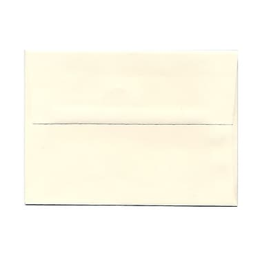 JAM Paper® A7 Invitation Envelopes, 5.25 x 7.25 Strathmore Natural White Wove, 100/Pack (44507g)