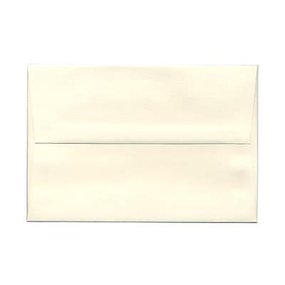 JAM Paper® A8 Invitation Envelopes, 5.5 x 8.125, Strathmore Natural White Wove, 25/pack (191205)