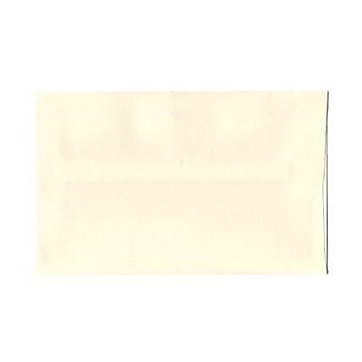 JAM Paper® A9 Invitation Envelopes, 5.75 x 8.75 Strathmore Natural White Wove, 25/pack (31911141)