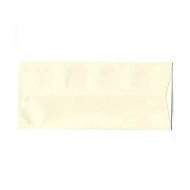 JAM Paper® #10 Business Envelopes, 4 1/8 x 9.5, Strathmore Natural White Wove, 100/Pack (34992g)
