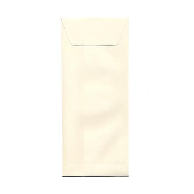 JAM Paper® #12 Policy Envelopes, 4.75 x 11, Strathmore Natural White Wove, 25/pack (900894427)