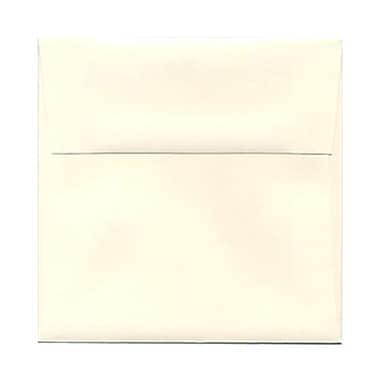 JAM Paper® 5.25 x 5.25 Square Envelopes, Strathmore Natural White Wove, 25/pack (194506)