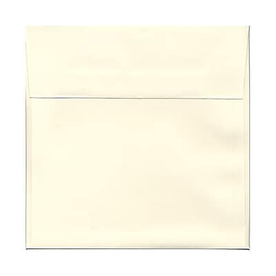 JAM Paper® 8.5 x 8.5 Square Envelopes, Strathmore Natural White Wove, 1000/carton (191283B)