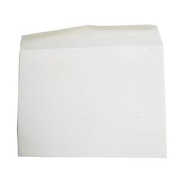 JAM Paper® 10 x 13 Booklet Envelopes, Strathmore Natural White Wove, 100/Pack (900797158g)