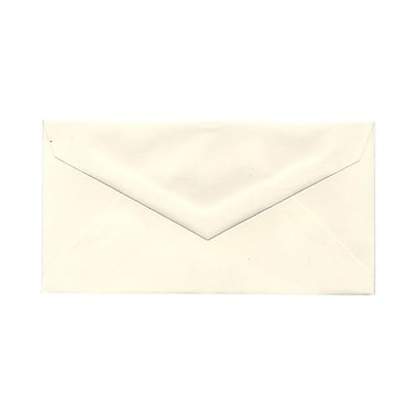 JAM Paper® Monarch Envelopes, 3 7/8 x 7 1/2, Strathmore Natural White Wove, 25/pack (3197090)
