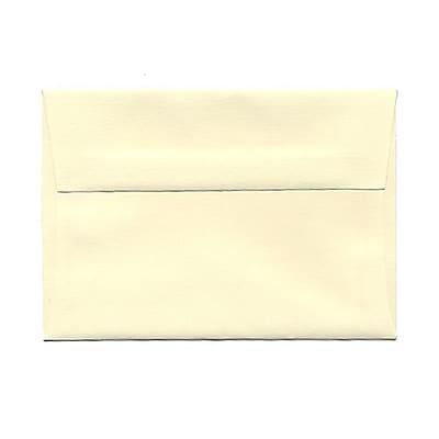 JAM Paper® 4bar A1 Envelopes, 3 5/8 x 5 1/8, Strathmore Ivory Wove, 25/pack (191133)