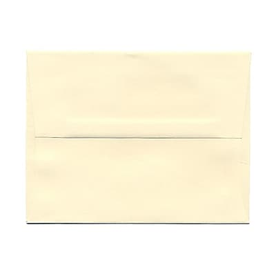 JAM Paper® A2 Invitation Envelopes, 4 3/8 x 5 3/4, Strathmore Ivory Wove, 25/pack (900919415)