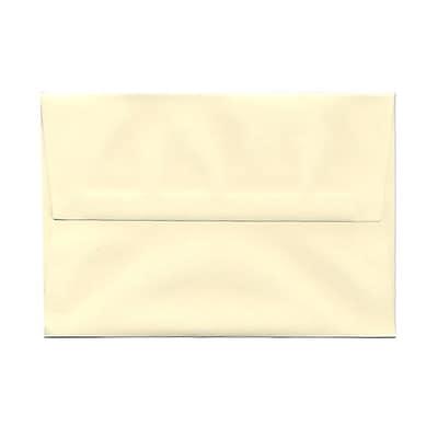 JAM Paper® A8 Invitation Envelopes, 5.5 x 8.125, Strathmore Ivory Wove, 25/pack (900783880)