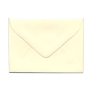 JAM Paper® 2.75 x 3.75 Mini Envelopes, Ivory, 100/Pack (201244g)