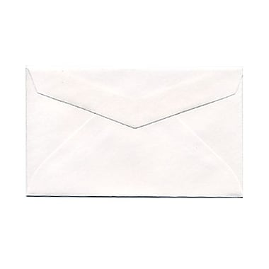 JAM Paper® 2Pay Mini Small Envelopes, 2.5 x 4.25, White, 1000/Pack (0201215B)