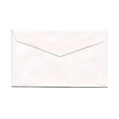 JAM Paper® 2Pay Mini Small Envelopes, 2.5 x 4.25, White, 1000/carton (0201215B)