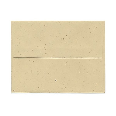 JAM Paper® A2 Invitation Envelopes, 4 3/8 x 5 3/4, Husk Brown Recycled, 25/pack (3180)