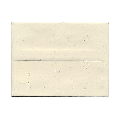 JAM Paper® A2 Invitation Envelopes, 4 3/8 x 5 3/4, Milkweed Ivory Recycled, 1000/carton (03271B)