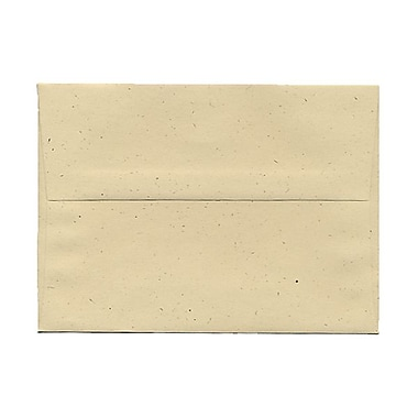 JAM Paper® A7 Invitation Envelopes, 5.25 x 7.25, Husk Brown Recycled, 100/Pack (3206g)