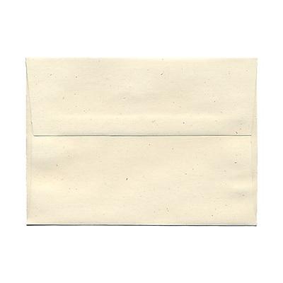 JAM Paper® A7 Invitation Envelopes, 5.25 x 7.25, Milkweed Ivory Recycled, 25/pack (3297)