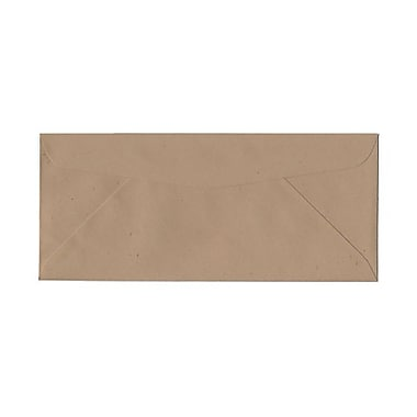 JAM Paper® #10 Business Envelopes, 4 1/8 x 9 1/2, Fossil Brown Recycled, 1000/pack (900905309B)