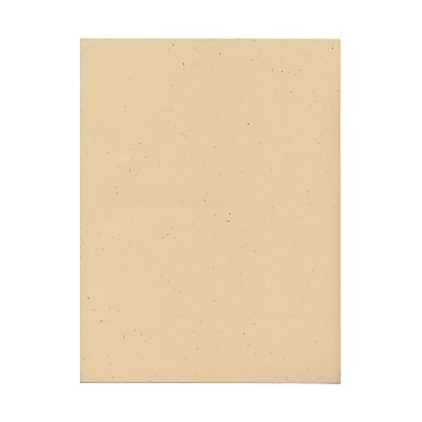 JAM PaperMD – Papier cartonné recyclé, 8-1/2 x 11 po, enveloppe de riz
