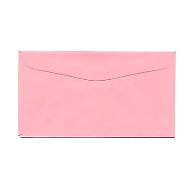 JAM Paper® #6 3/4 Commercial Envelopes, 3 5/8 x 6 1/2, Baby Pink, 1000/carton (72660)
