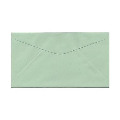 JAM Paper® #6.75 Commercial Envelopes, 3 5/8 x 6 1/2, Light Green, 1000/carton (457611417)