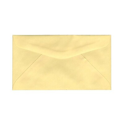JAM Paper® #6.75 Commercial Envelopes, 3 5/8 x 6 1/2, Canary Yellow, 1000/carton (357617061)