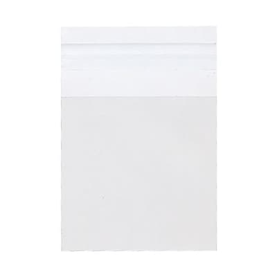 JAM Paper® Cello Sleeves with Self Adhesive Closure, 3 1/4 x 3 1/4, Clear, 1000/carton (3.25X3.25CELLOB)