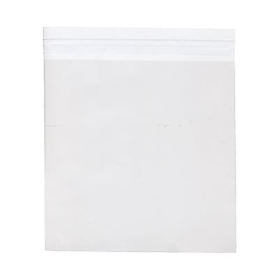JAM Paper® Cello Sleeves with Self Adhesive Closure, 7.75 x 7.75, Clear, 100/pack (7.75X7.75CELLO)