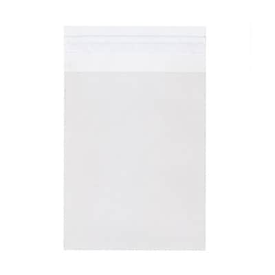 JAM Paper® Cello Sleeves with Self Adhesive Closure, 4 5/8 x 5 7/8, Clear, 1000/carton (A2CELLOB)