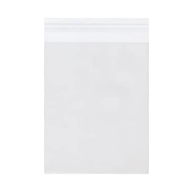 JAM Paper® Cello Sleeves with Self Adhesive Closure, 6 7/16 x 8 1/4, Clear, 1000/carton (A8CELLOB)