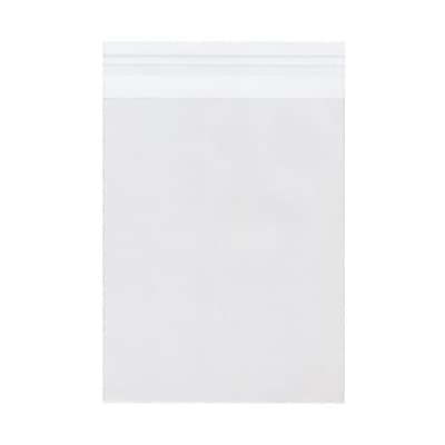 JAM Paper® Cello Sleeves with Self Adhesive Closure, 6 7/16 x 8 1/4, Clear, 100/pack (A8CELLO)