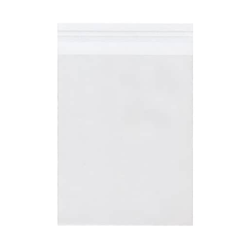 JAM Paper® Cello Sleeves with Self-Adhesive Closure, 6.4375 x 8.25, Clear, 100/Pack (A8CELLO)