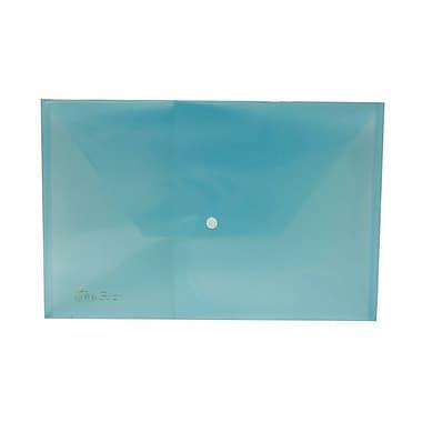 JAM PaperMD – Enveloppes originales format légal avec fermeture à pression, 9 1/2 x 14 1/2 po, bleues, paq./12