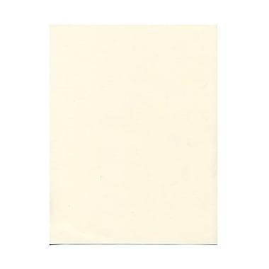 JAM PaperMD – Papier couverture cartonné Strathmore, toilé, 8-1/2 x 11 po, blanc naturel