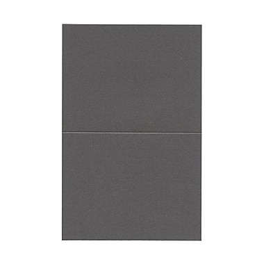 JAM Paper® Blank Foldover Cards, A2 size, 4.25 x 5.5, Curious Metallic Ionized, 50/Pack (6935216)
