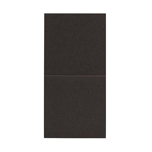 JAM Paper® Foldover Cards, 5.75 x 5.75 square, Stardream Metallic Bronze, 50/pack (6935182)