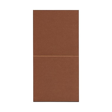 JAM Paper® Foldover Cards, 5.75 x 5.75 square, Stardream Metallic Copper, 50/Pack (6935184)