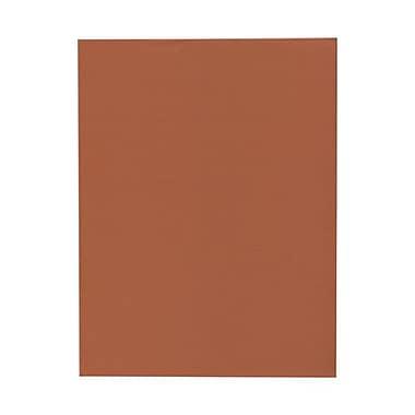 Jam PaperMD – Papier couverture cartonné texturé, 8 1/2 x 11 po, orange foncé