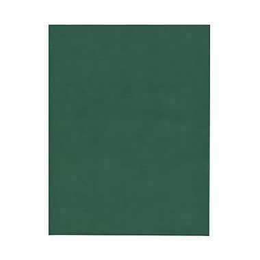 JAM PaperMD – Papier de couverture cartonné translucide, vélin, 8-1/2 x 11 po, vert anglais