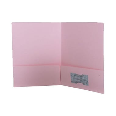 JAM Paper® Paper Two Paper Pocket Presentation Folders, 9