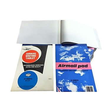 JAM Paper® Paper Pad, 6 x 9, Airmail Onion Skin, Sold Individually (189815216)