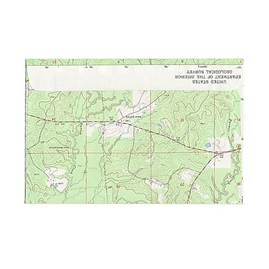 JAM Paper® 6 x 9 Booklet Envelopes, Made with Real Map Surplus, 100/Pack (163732g)