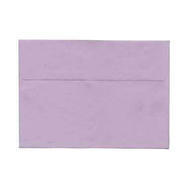 JAM Paper® A8 Invitation Envelopes, 5.5 x 8.125, Wausau Purple, 100/Pack (51512557ag)