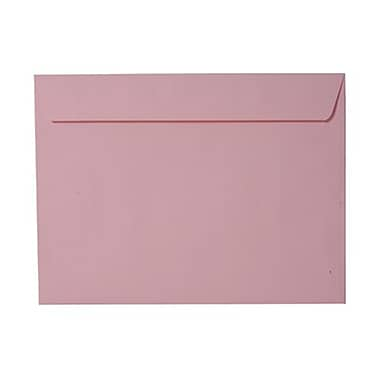 JAM Paper® 9 x 12 Booklet Envelopes, Baby Pink, 50/Pack (31512738g)