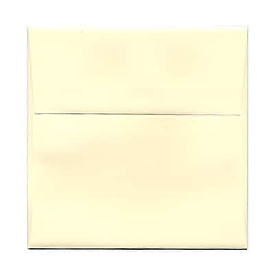 JAM Paper® 5 x 5 Square Envelopes, Ivory, 25/pack (2792255)