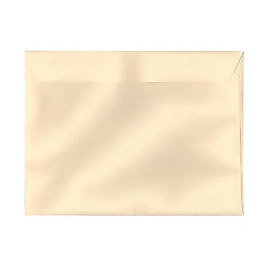 JAM Paper® 9 1/2 x 12 5/8 Booklet Envelopes, Ivory Linen, 25/pack (93159)