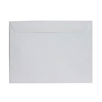 JAM Paper® 9 1/2 x 12 5/8 Booklet Envelopes, Matte White, 100/pack (06194704B)